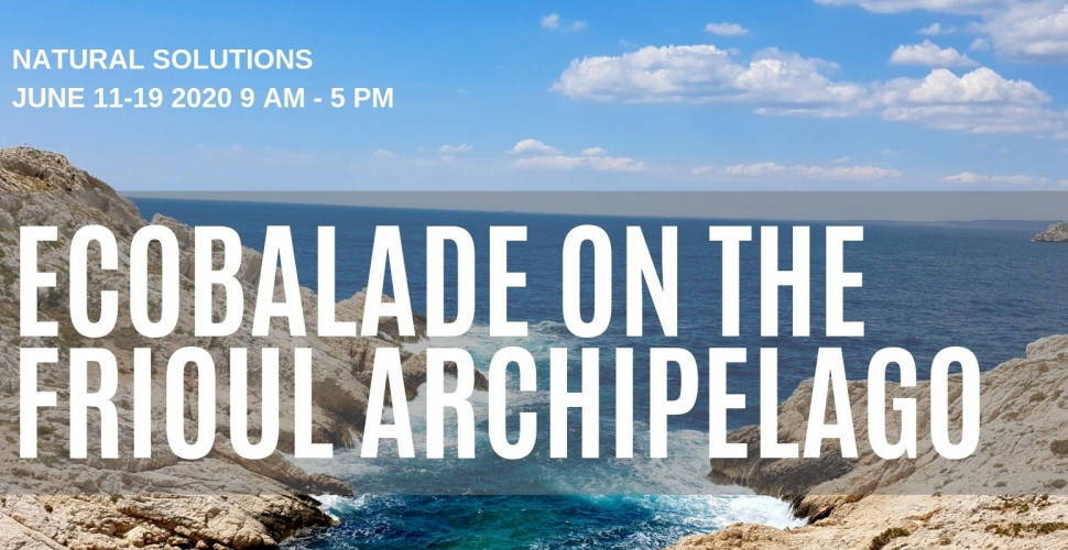 Ecobalade à l'archipel du Frioul dédiée au Congrès mondial de la nature de l'UICN 2020
