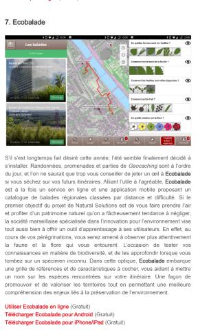 01net.com Ecobalade