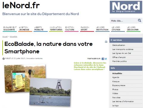 Lenord.fr ecobalade