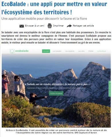 Tourmag - Ecobalade