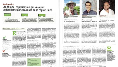 La Gazette des Communes : Ecobalade, l'application qui booste l'écotourisme