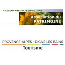 logo Association du patrimoine de Chateau Arnoux et tourisme PADB