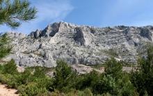Balade de St-Antonin (13) - Sentier de la Montagne Ste Victoire à l'oppidum