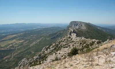 Vue de la balade du Pic des Mouches sur la Montagne de la Sainte Victoire