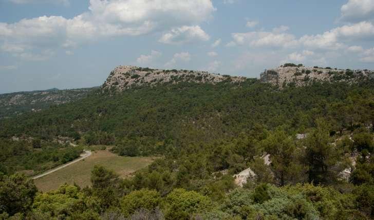 Vue du Nord de la Montagne Sainte Victoire