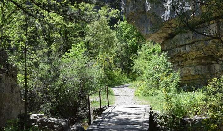 Balade de St-Génis dans les Gorges du Riou (Crédits : Sabine Meneut)