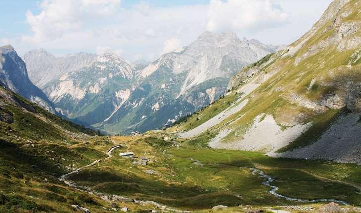 Randonnée au col de la Vanoise (Crédits : Léa Charbonnier)
