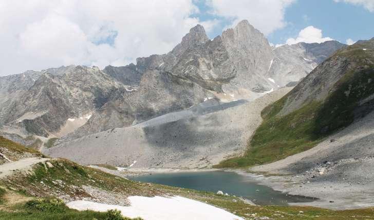Randonnée au col de la Vanoise - Lac long (Crédits : Léa Charbonnier)
