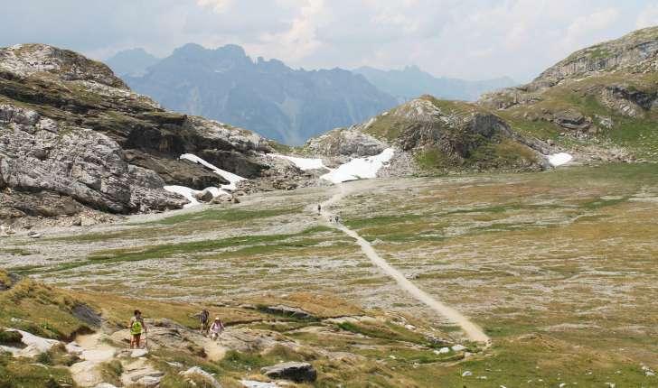 Randonnée au col de la Vanoise - Lac des assiettes (Crédits : Léa Charbonnier)