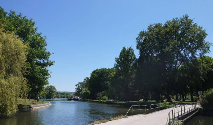 Une balade très agréable le long de l'Yonne.