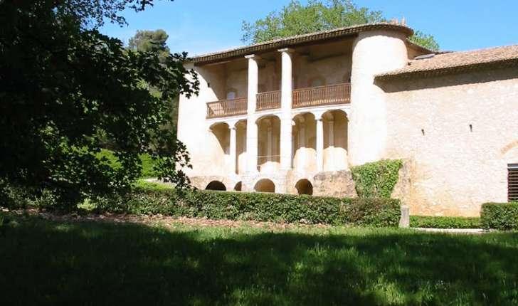 Pavillon de chasse du roi René (Crédits : Marc Guerrini)