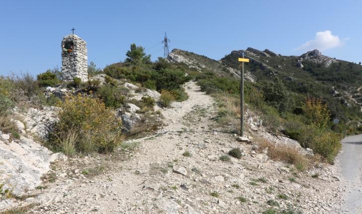 Sentier du Bau trauqua (Crédits : Paul Albergne)