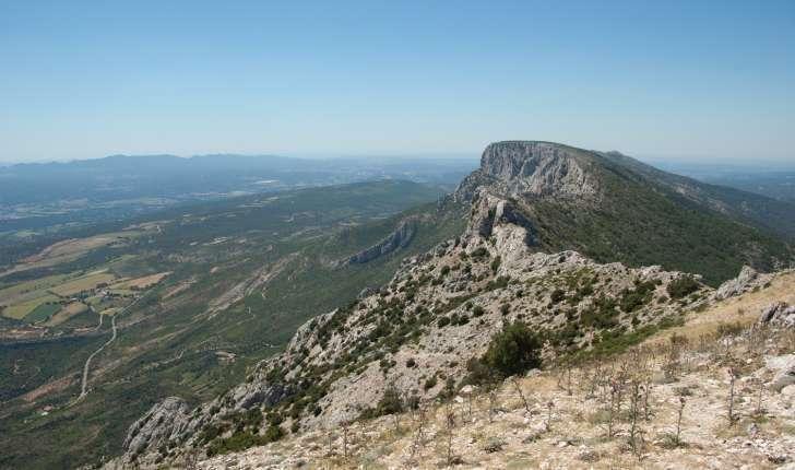 Vue au sommet de la balade du Pic des Mouches sur la Montagne de la Sainte Victoire
