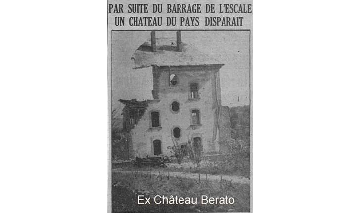 Chateau Berato démolition - crédit Corraro Luigi