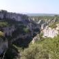Vue d'ensemble du canyon d'Oppédette (Crédits: Elian Gossiome)